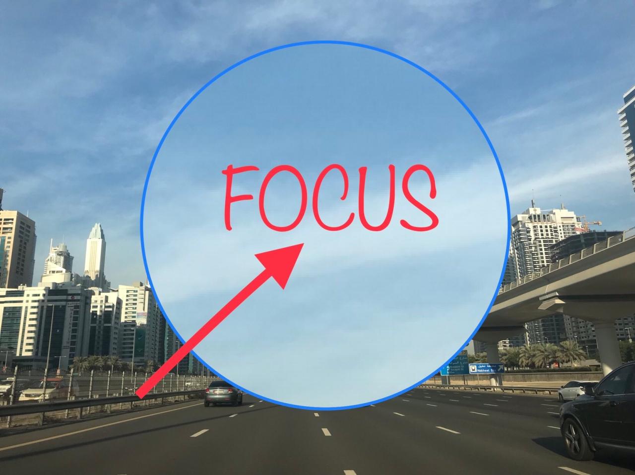""" Stay Focus In EverySeason"""